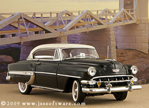 The Franklin Mint 1954 Chevrolet Bel Air.
