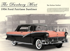 Danbury Mint 1956 Ford Sunliner