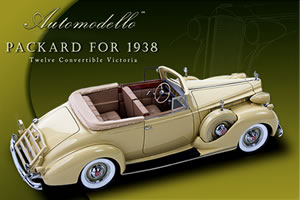 Automodello 1938 Packard