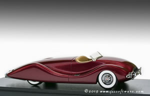Automodello 1948 Timbs Streamliner.