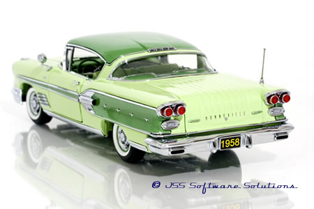 The Danbury Mint 1958 Pontiac Bonneville Sport Coupe.