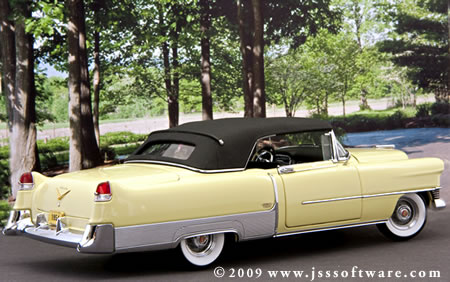 The Danbury Mint 1954 Cadillac Eldorado.