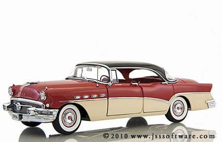 The Danbury Mint 1956 Buick Riviera 4-Door Sedan.