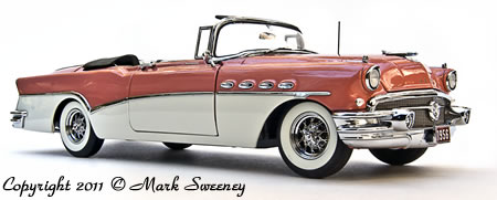 Danbury Mint 1956 Buick Roadmaster Convertible.