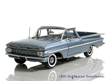 West Coast Precision Diecast 1959 Chevrolet ElCamino.
